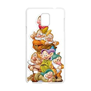 Samsung Galaxy Note 4 White phone case Disney Cartoon Snow White and the Seven Dwarfs EYB3569756