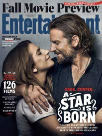 Entertainment Weekly Magazine (August 17 2018) A Star Is Born Bradley Cooper Lady Gaga Cover