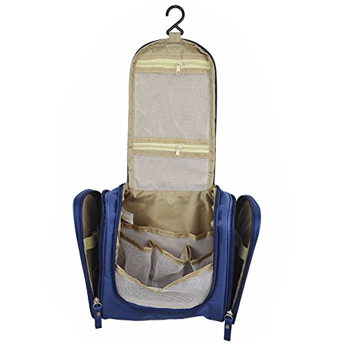 Toupons Hanging Toiletry Bag Personal Travel Organizer for M