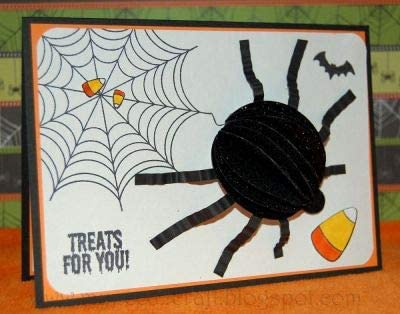 Spider Web Stamps for Card-Making and Scrapbooking Supplies by The Stamps of Life Web4Us