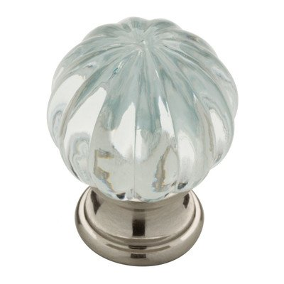 Design Facets Crystal Knob Finish: Clear/Satin Nickel ()