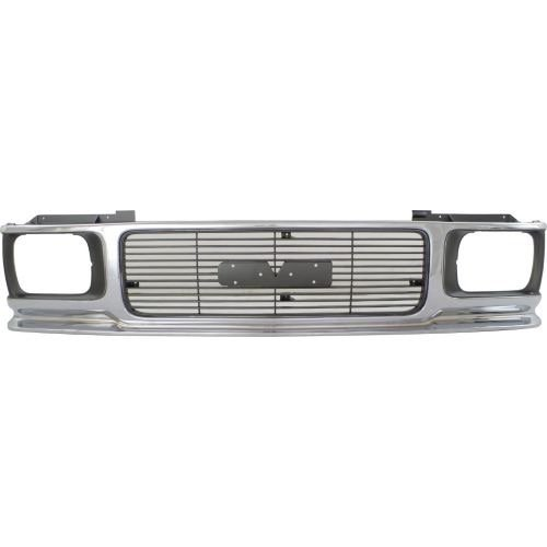 Go-Parts ª OE Replacement for 1991-1994 GMC S15 Jimmy + Envoy Grille Assembly 15688528 GM1200346 for GMC Envoy