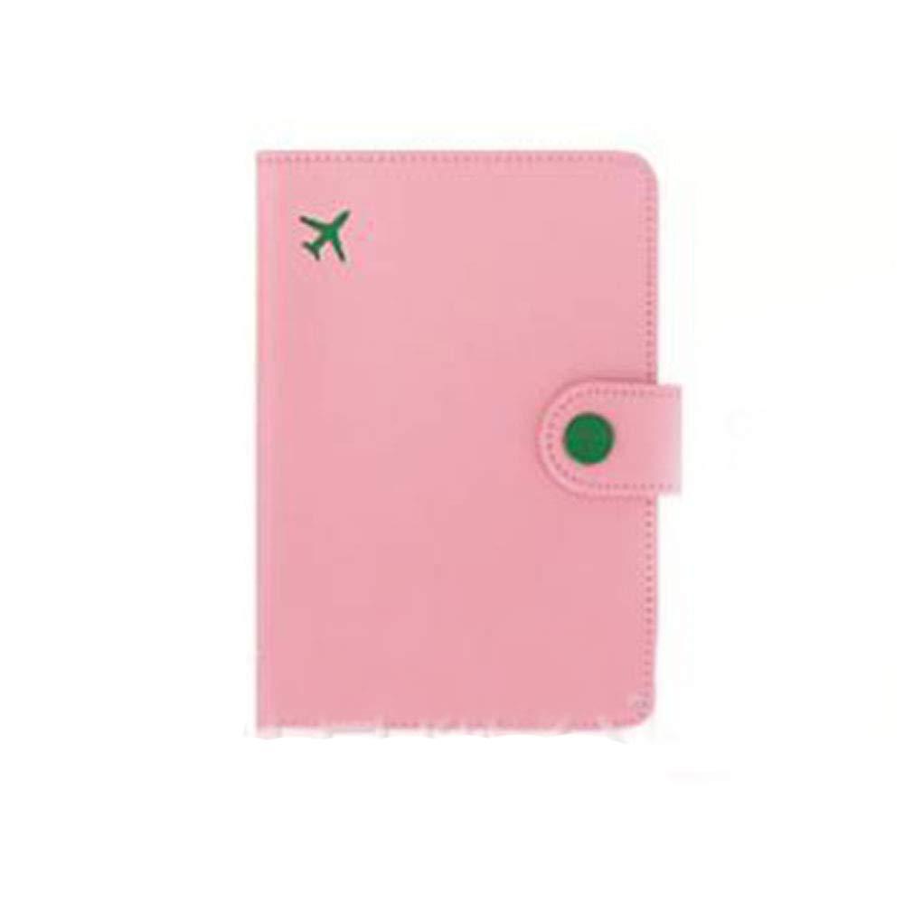 PU-Leder Reisepasshülle ID Kartenmappe Reisetasche Anti-Entmüdungs-Kurzpass Dokumentpaket Qianming