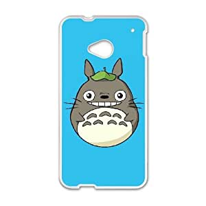 Anime Series Cartoon Design My Neighbor Totoro Protective Case for HTC One M7 Case A010