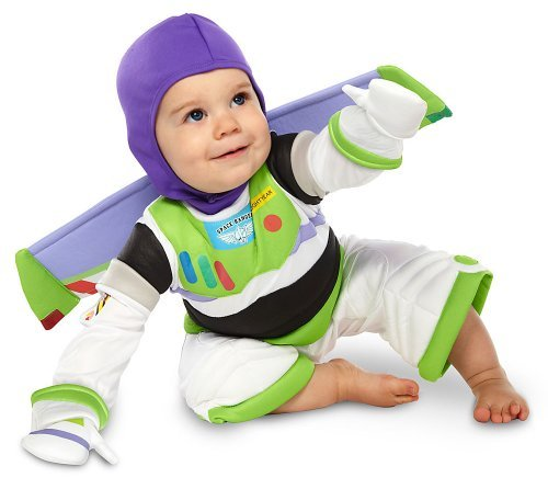 Disney Store Toy Story Buzz Lightyear Costume Size 12-18 Months Infants/Toddlers -