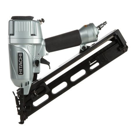 Hitachi NT65MA4 15 Gauge Angle Finish Nailer w/Case, 1-1/4 inch to 2-1/2 inch #NT65MA4