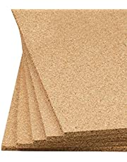 Plain Cork Sheet 24In X 36In X 1/2In Thick - 5Pcs Set