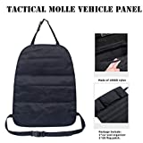 Tactical Car Seat Back Organizer - Upgraded