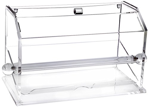 Excellante Acrylic Straw Dispenser, NA, (Straw Dispenser For Pencils)