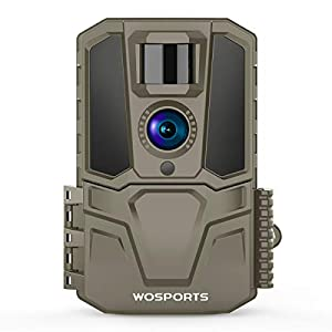 Flashandfocus.com 418HpqSWbxL._SS300_ Trail Camera 30MP 1440P FHD 120°Wide Angle Lens Hunting Game Camera with IR Night Vision Motion Activated for Outdoor…