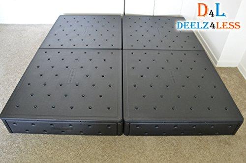 Black Modular Base (Used Select Comfort Sleep Number Eastern King Size Foundation Frame Modular Base Box Spring)