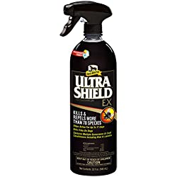 Absorbine 32 Fl Oz Ultra Shield EX Fly Spray Kills and Repels More Than 70 Species ! Weatherproof Formula