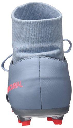 Nike Mercurial Victory Vi Df Fg, Botas de Fútbol Unisex Niños Azul (Light Armory Blue/armory Navy-armory Blue)