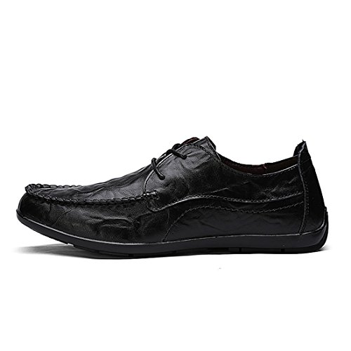 Minishion Boys Mens Nuovissimo Stile Daily Fashion Sneakers Nero