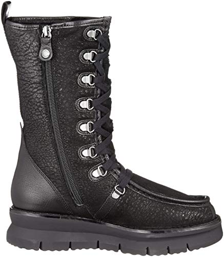 C9999 Porthya Noir black Hautes E Bottes D Geox Femme Zw8UxZq