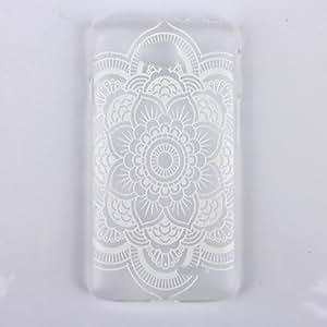 DATURA Impresión Patrón transparente Escarchado PC Teléfono Buzón para LG L90