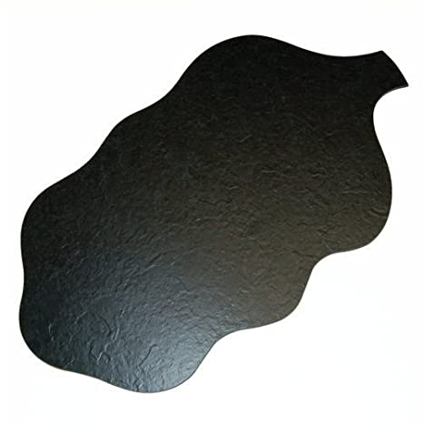 sintética Pizarra Bandeja hojas forma, 62/35,5 cm: Amazon.es ...