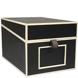 Semikolon Multimedia CD/DVD/Photo Storage Box, Black (31807)