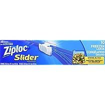 Ziploc Slider Bags Freezer, Large