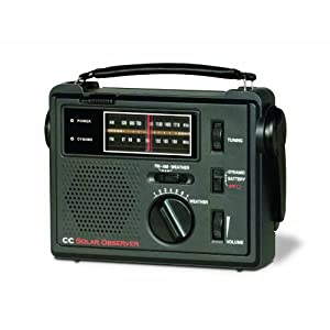 418HsuraesL. SS300  - C Crane CC Solar Observer Wind Up Radio with AM FM Weather and built in LED Flashlight COBS