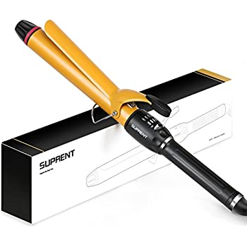 amazon com suprent professional curling iron with high temperature