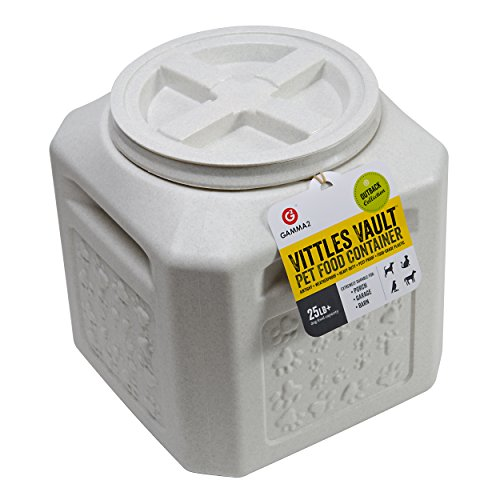 Gamma2 Vittles Vault Outback 25 lb Airtight Pet Food Storage Container