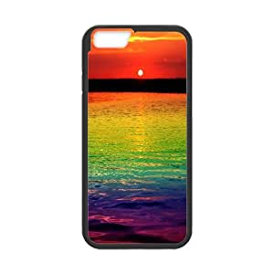 """Best Quality [LILYALEX PHONE CASE] Colorful Rainbow Pattern For Apple Iphone 6,4.7"""" screen CASE-7"""