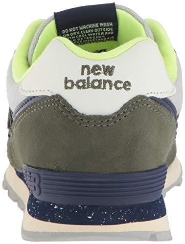New 574v2 dark Enfant Vert pigment Balance Covert Hg Baskets Mixte Green r7PTr5q