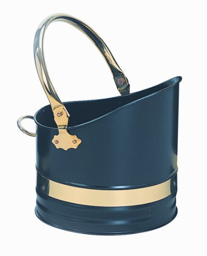 Brass Coal Bucket - 1