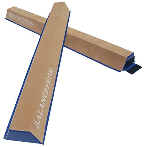 BalanceFrom GoGym Sectional Floor Balance Beam, 5 Feet Each, Pack of 2