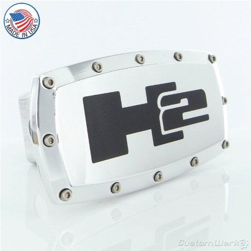 Hummer H2 Logo Chrome Billet Tow Hitch Cover