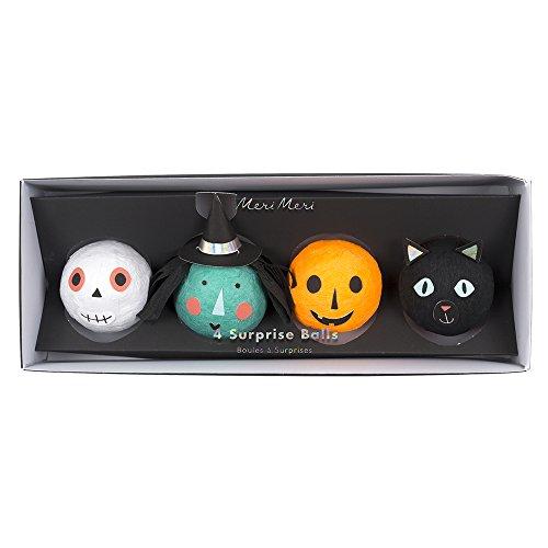 Meri Meri, Spooky, Surprise Balls - Set of 4