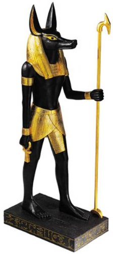 4 Foot Statue (4 Ft. Anubis - Collectible Figurine Statue Sculpture Egyptian Figure)