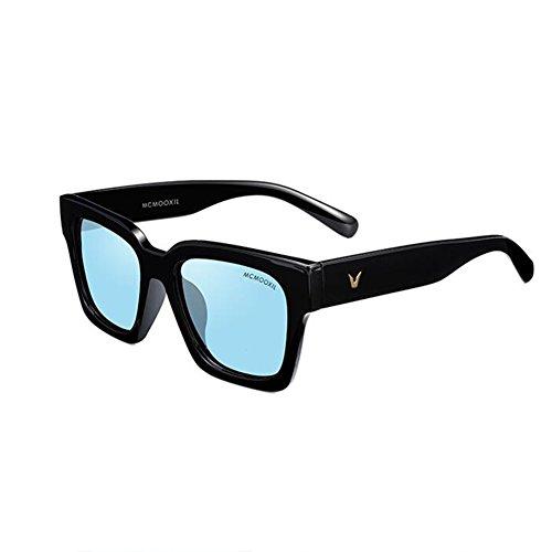 sol negro de Unisex lente del polarizadas Color Ladies la de HONEY señoras para estilo B C protectoras Gafas UV400 hombre EwzCxqf