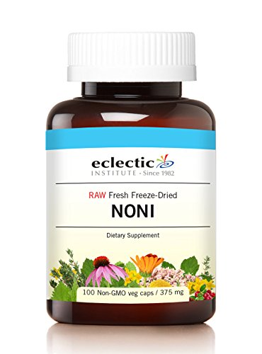 Eclectic Noni Freeze Dried Vegetables with Glass, Blue, 100 Count ()