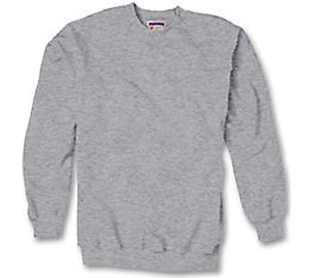 Hanes Men's Ultimate Cotton Fleece Crew Sweater, Oxford Gray, M (100 Cotton Fleece)