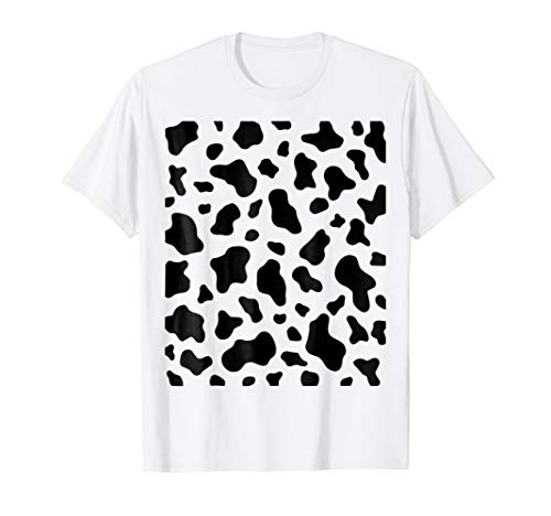 Cow Print - Simple, Easy Halloween Costume Idea