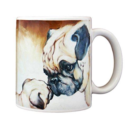 (Pug To Pug Coffee Mug)