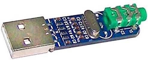 Binchil 5V USB Alimentado Pcm2704 Tarjeta De Sonido Dac ...
