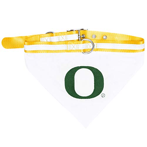 Pets First Collegiate Pet Accessories, Collar Bandana, Oregon Ducks, Small