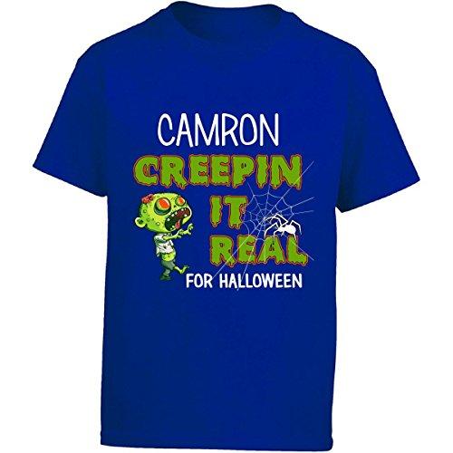 Camron Creepin It Real Funny Halloween Costume Gift - Girl Kids T-shirt