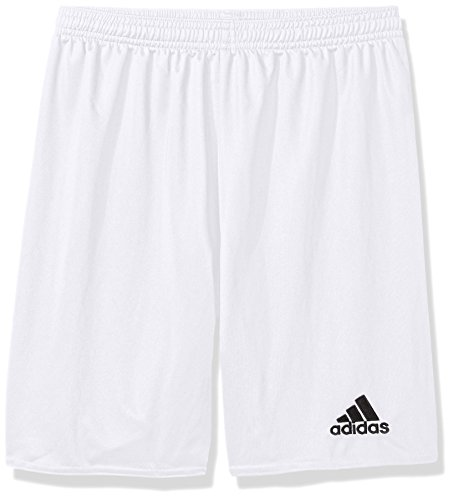 adidas unisex-youth Parma 16 Shorts White/Black 4T