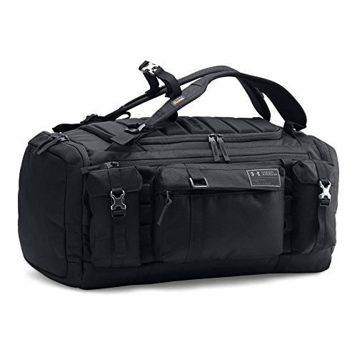 Under Armour CORDURA Range Duffle, Black/Black, One Size by Under Armour