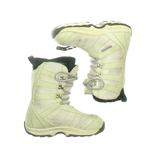 New Morrow Wildflower White Snowboard Boots Women's Size 6 by Morrow