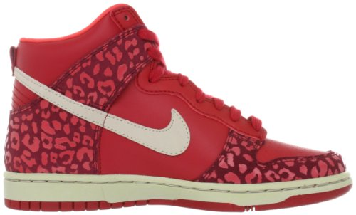 Nike Classic Cortez Nylon Prem Womens Gym Röd / Sandtrap-tm Röda Snbrst