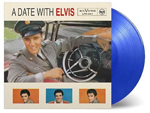 Date With Elvis (180G/Transparent Blue Vinyl)