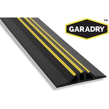garage door flood barrierGarage Door Flood Barrier Seal 1 in High 20ft 3in   Amazoncom