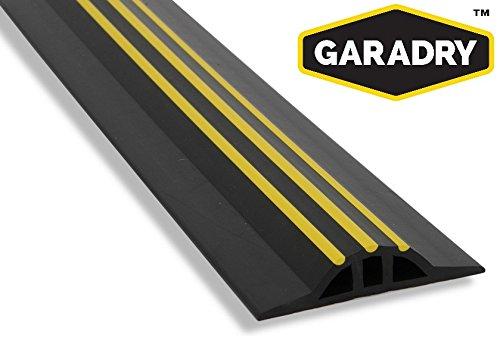 Garadry 1'' Garage Door Threshold Seal Kit 12'3'' by Garadry