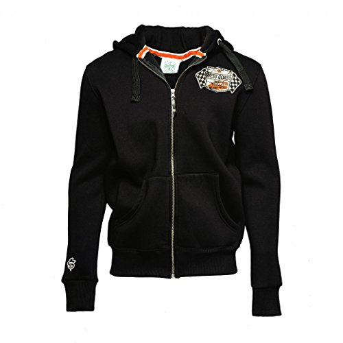 West Coast Choppers Zip Hoody Cheating Death, Color:schwarz;Größe:L (West Choppers Hoodie compare prices)