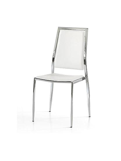 Lo Scrigno Arredamenti, Set 4 Sedie Moderne In Metallo Sedia ...